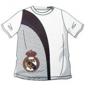 Real Madrid T-shirt Vit-Svart Barn 5-6 år