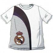 Real Madrid T-shirt Vit-Svart Barn 5-6 år