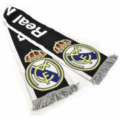Real Madrid Halsduk Text Svart