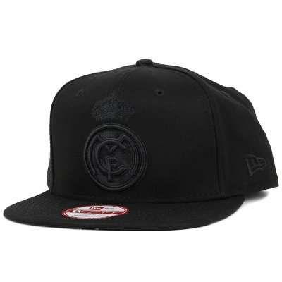 New Era - Real Madrid Black/Black 9Fifty Snapback (S/M)