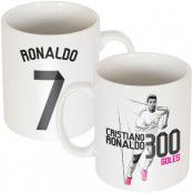 Real Madrid Mugg Ronaldo 300 Goals