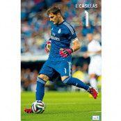 Real Madrid Affisch Casillas 28