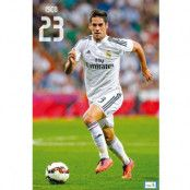 Real Madrid Affisch Isco 36