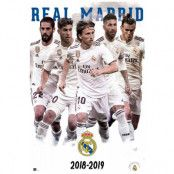 Real Madrid Affisch Players 61