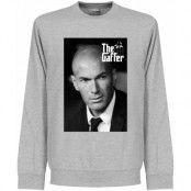 Real Madrid Tröja Zidane The Gaffer Sweatshirt Zinedine Zidane Grå S