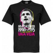 Real Madrid T-shirt Gracias Iker Casillas Svart XS