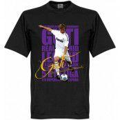Real Madrid T-shirt Legend Guti Legend Svart XS
