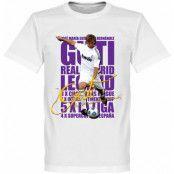 Real Madrid T-shirt Legend Guti Legend Vit XS