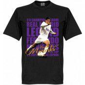 Real Madrid T-shirt Legend Morientes Legend Svart XS