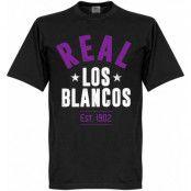 Real Madrid T-shirt Real Established Svart XS