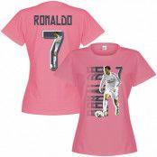 Real Madrid T-shirt Ronaldo No7 Gallery Dam Cristiano Ronaldo Rosa S - 8