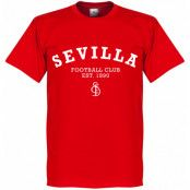 Sevilla T-shirt Team Röd XS