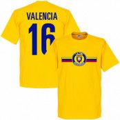 Ecuador T-shirt Logo Valencia Gul XS