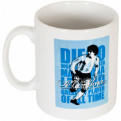 Argentina Mugg Maradona Legend Diego Maradona Vit