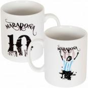 Argentina Mugg Maradona No10 Diego Maradona Vit