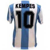 Argentina Signerad Fotbollströja Kempes
