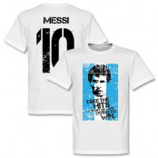 Argentina T-shirt Messi Flag S