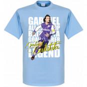 Argentina T-shirt Legend Batistuta Legend Ljusblå XS