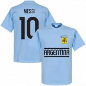 Argentina T-shirt Messi Team Lionel Messi Ljusblå XS