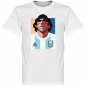 Argentina T-shirt Playmaker Maradona Football Diego Maradona Vit S