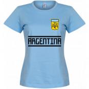 Argentina T-shirt Team Dam Ljusblå S