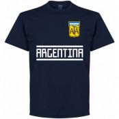 Argentina T-shirt Team Mörkblå S