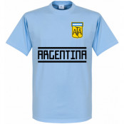 Argentina T-shirt Wordmark Ljusblå XS