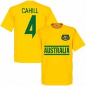 Australien T-shirt Cahill 4 Team Tim Cahill Gul XS