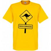 Australien T-shirt Gul XS