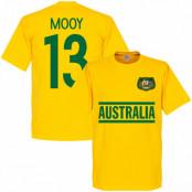 Australien T-shirt Mooy 13 Team Gul XS