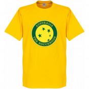 Australien T-shirt Socceroos Gul XS