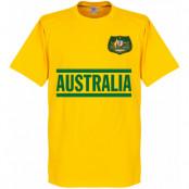 Australien T-shirt Team Gul XS