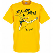 Australien T-shirt The Aussie Volley Tim Cahill Gul XS