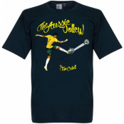 Australien T-shirt The Aussie Volley Tim Cahill Mörkblå S