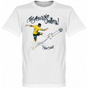 Australien T-shirt The Aussie Volley Tim Cahill Vit XS