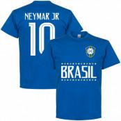 Brasilien T-shirt Brazil Jr 10 Team Neymar Blå S
