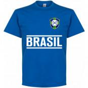 Brasilien T-shirt Brazil Team Blå XXL