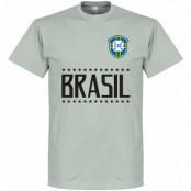 Brasilien T-shirt Brazil Team Grå S