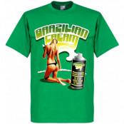Brasilien T-shirt ian Cream Grön XS
