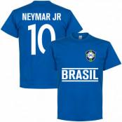 Brasilien T-shirt Jr Team Neymar Blå S