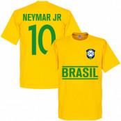 Brasilien T-shirt Jr Team Neymar Gul XS