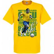 Brasilien T-shirt Legend Cafu Legend Gul XS