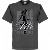 Brasilien T-shirt Legend Pele Mörkgrå S