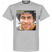 Brasilien T-shirt Pennarello LPFC Jairzinho Grå S