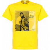 Brasilien T-shirt Pennarello LPFC Pelé Pele Gul S