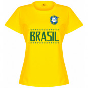Brasilien T-shirt Team Dam Gul S