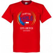 Chile T-shirt Copa Centenario Winners Alexis Sanchez Röd XS