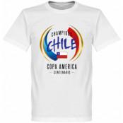 Chile T-shirt Copa Centenario Winners Alexis Sanchez Vit XS