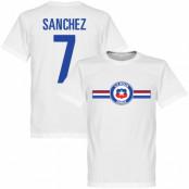 Chile T-shirt Culture Sanchez Football Alexis Sanchez Vit XS