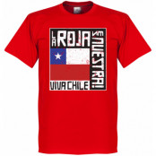 Chile T-shirt Le Roja Es Nuestra Röd XS